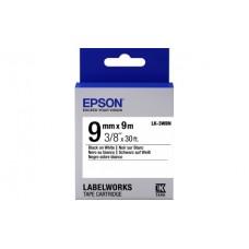Epson картридж LK-3WBN серии Label Works