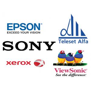 Новое поступление от мировых брендов SONY,EPSON, Viewsonic и Xerox!